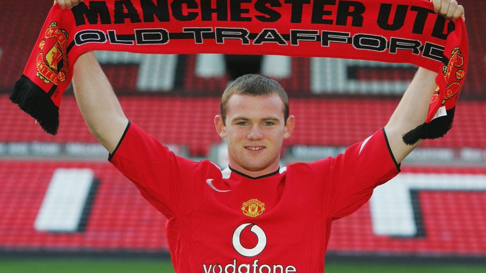 Ngày này năm xưa: MU chiêu mộ Rooney từ Everton