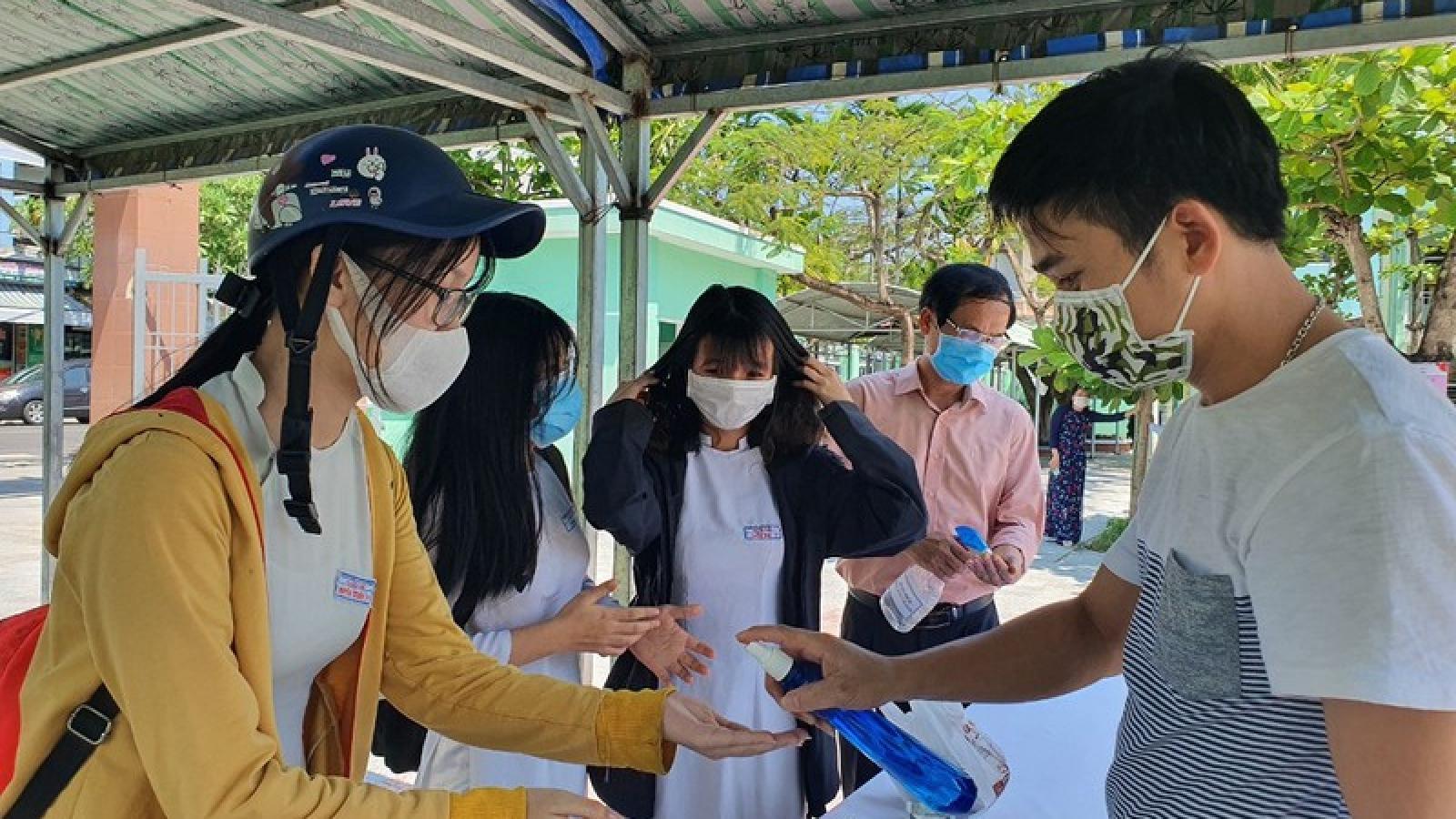 Học sinh Đà Nẵng tích cực ôn tập chờ thi tốt nghiệp THPT đợt 2