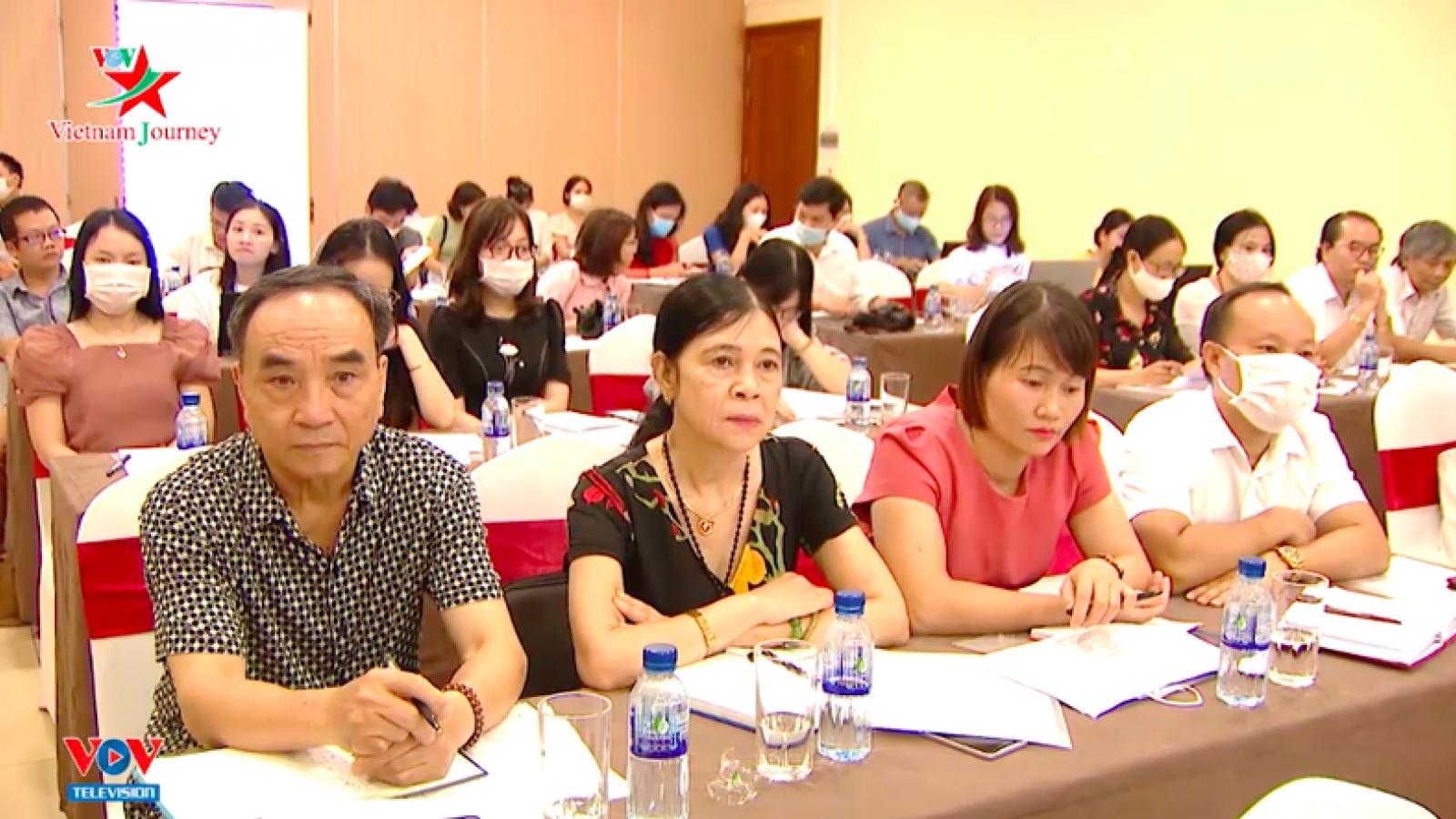 Tổng Giám đốc VOV dự lớp bồi dưỡng nâng cao trình độ lý luận, phê bình VNHT