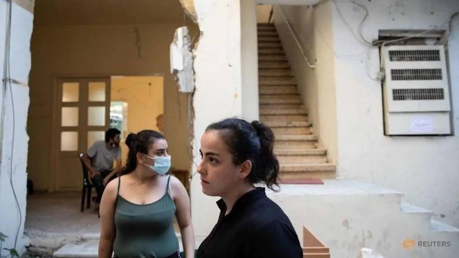 Người dân Beirut đối mặt với khủng hoảng sức khỏe tâm thần sau vụ nổ kinh hoàng