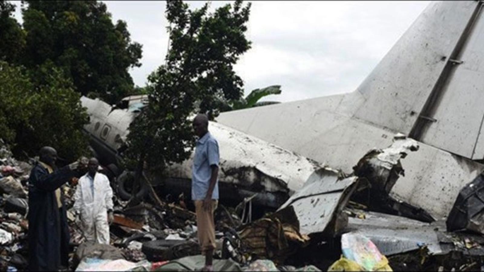 1 người sống sót trong vụ rơi máy bay tại Nam Sudan
