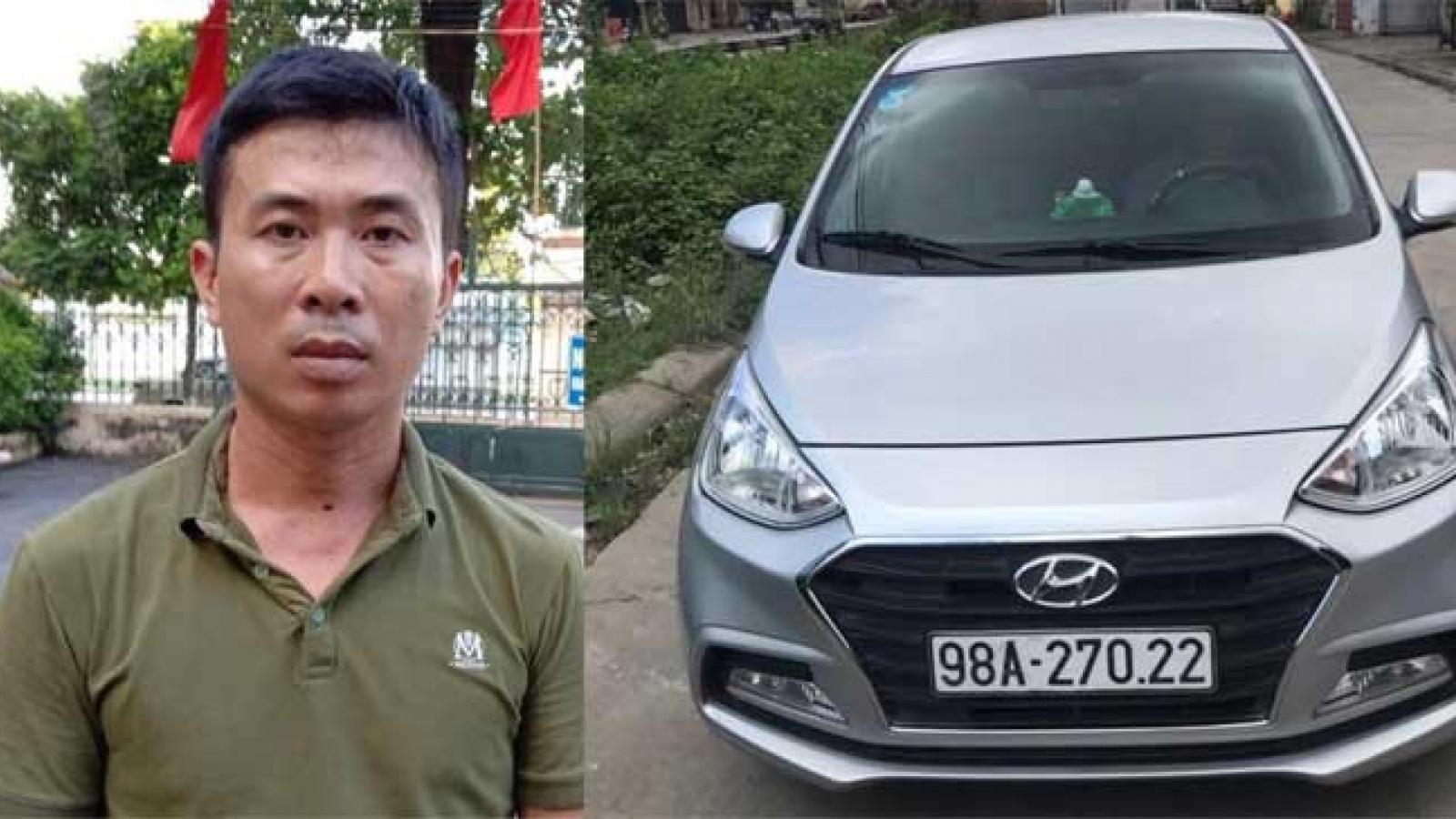 Tài xế cố tình lao ô tô khiến Trung úy CSGT bị thương