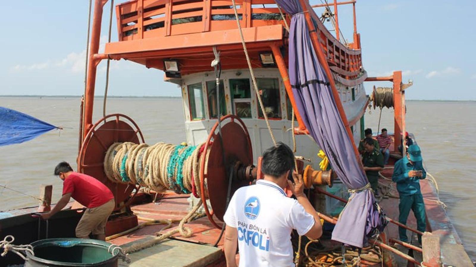 Tiền Giang: Chủ tàu cá bị thuyền viên đánh tử vong trên biển