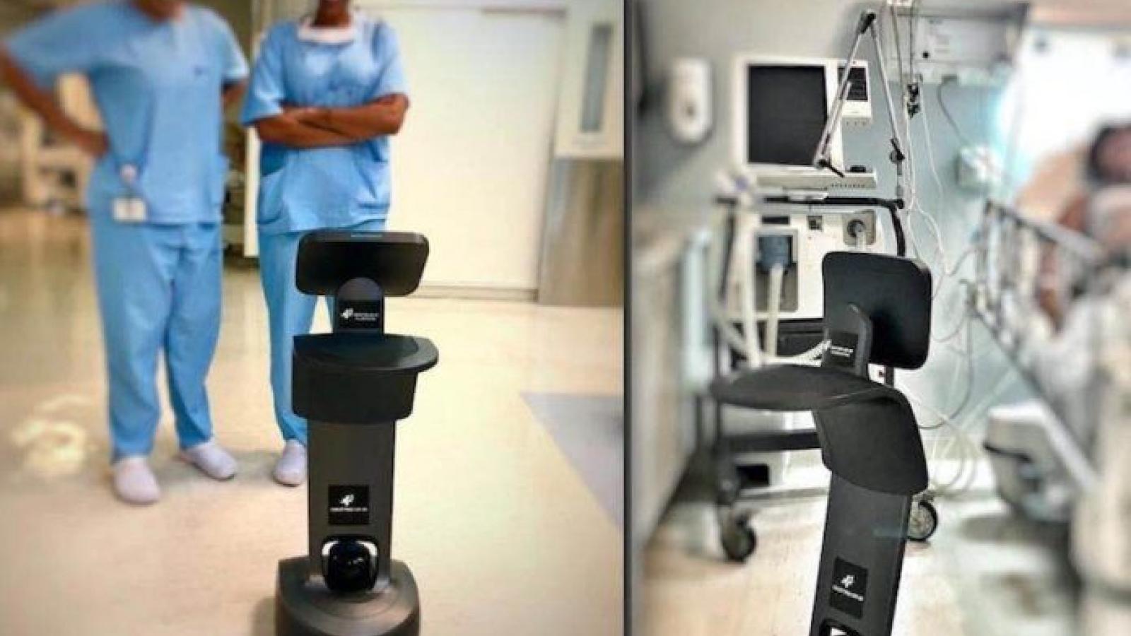 Robot Temi – trợ thủ đắc lực cho bác sĩ trong trận chiến với Covid-19