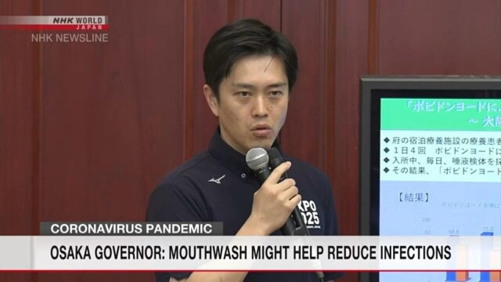 Nhật Bản thử nghiệm thuốc súc họng ngừa Covid-19
