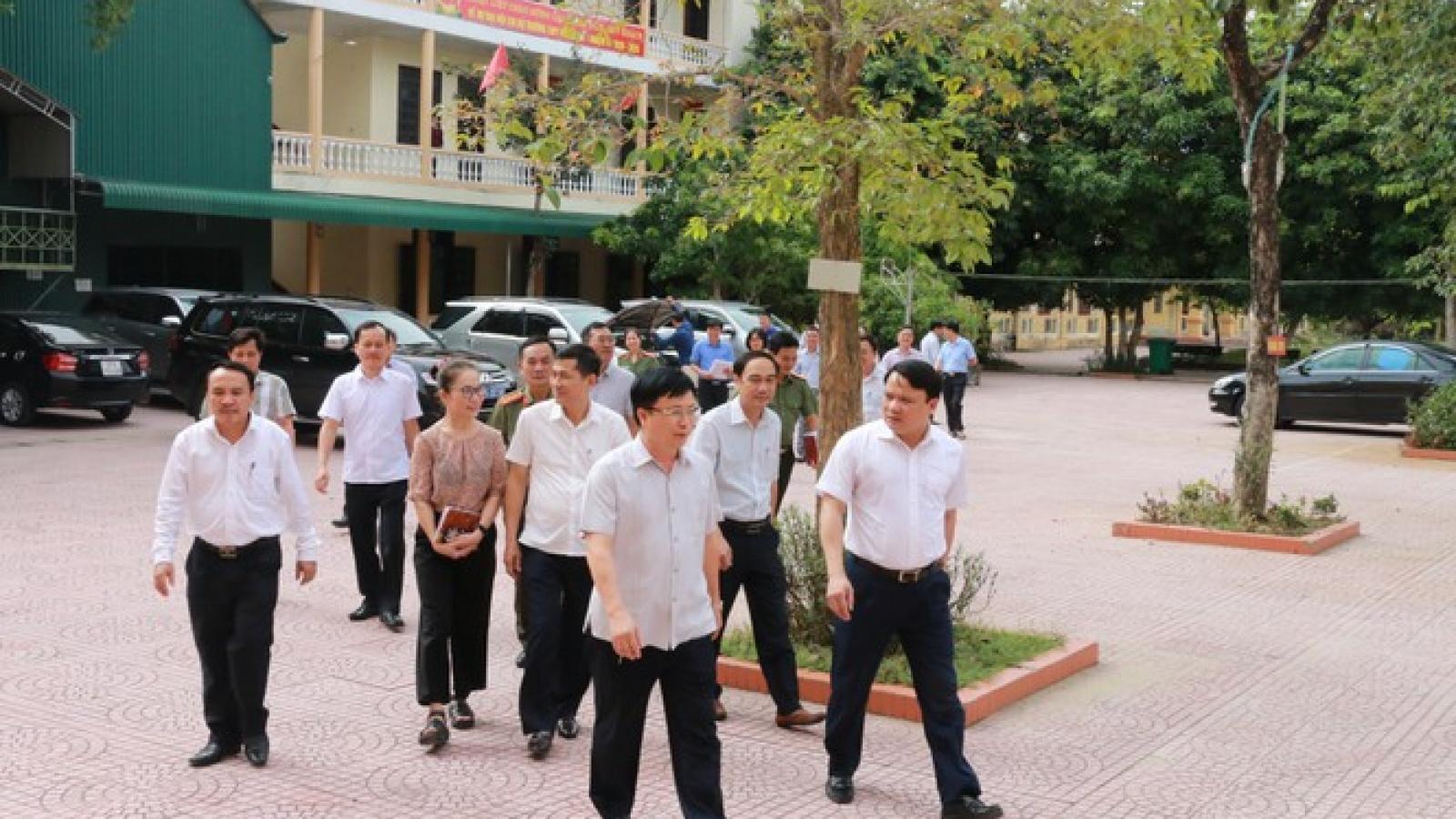 Nghệ An phát 150 nghìn khẩu trang cho thí sinh tham dự kỳ thi THPT