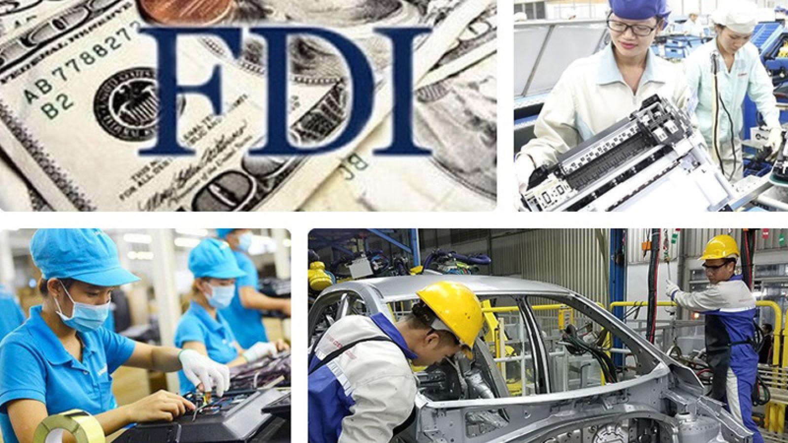 Gần 20 tỷ USD vốn FDI rót vào Việt Nam 8 tháng qua