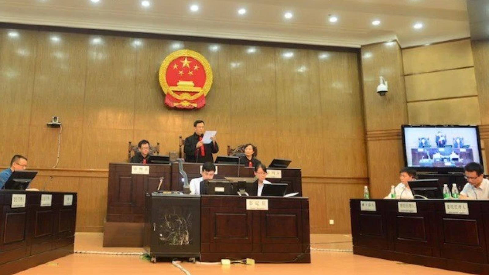 Công dân Canada thứ 2 liên tiếp bị Trung Quốc tuyên án tử hình
