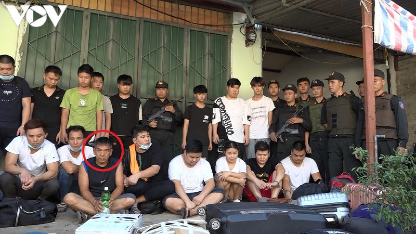 Mục sở thị nơi ẩn náu của 21 đối tượng truy nã Trung Quốc ở Lào Cai