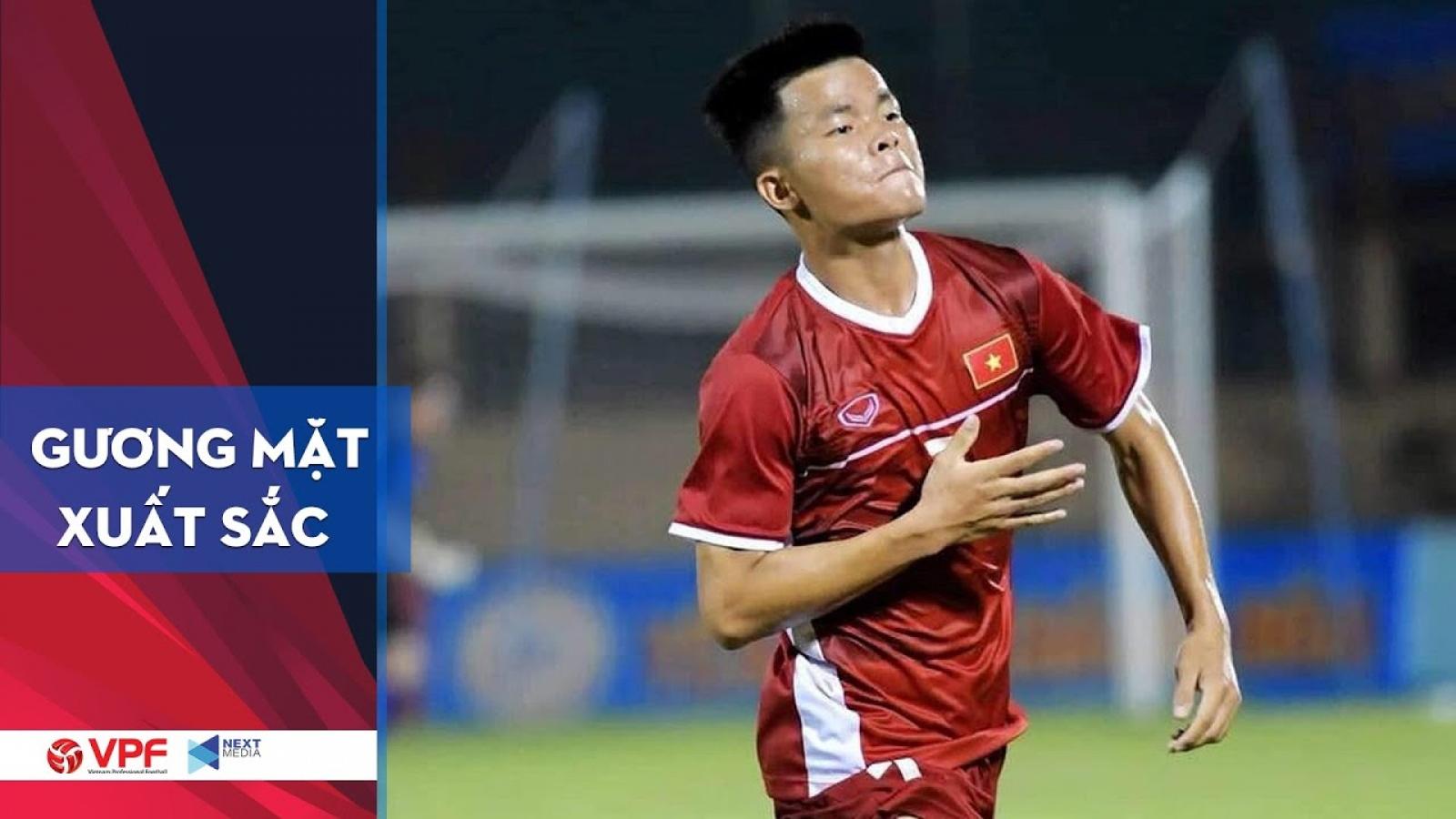 Tiền vệ Trần Mạnh Quỳnh - Cầu thủ nổi bật của U19 Việt Nam