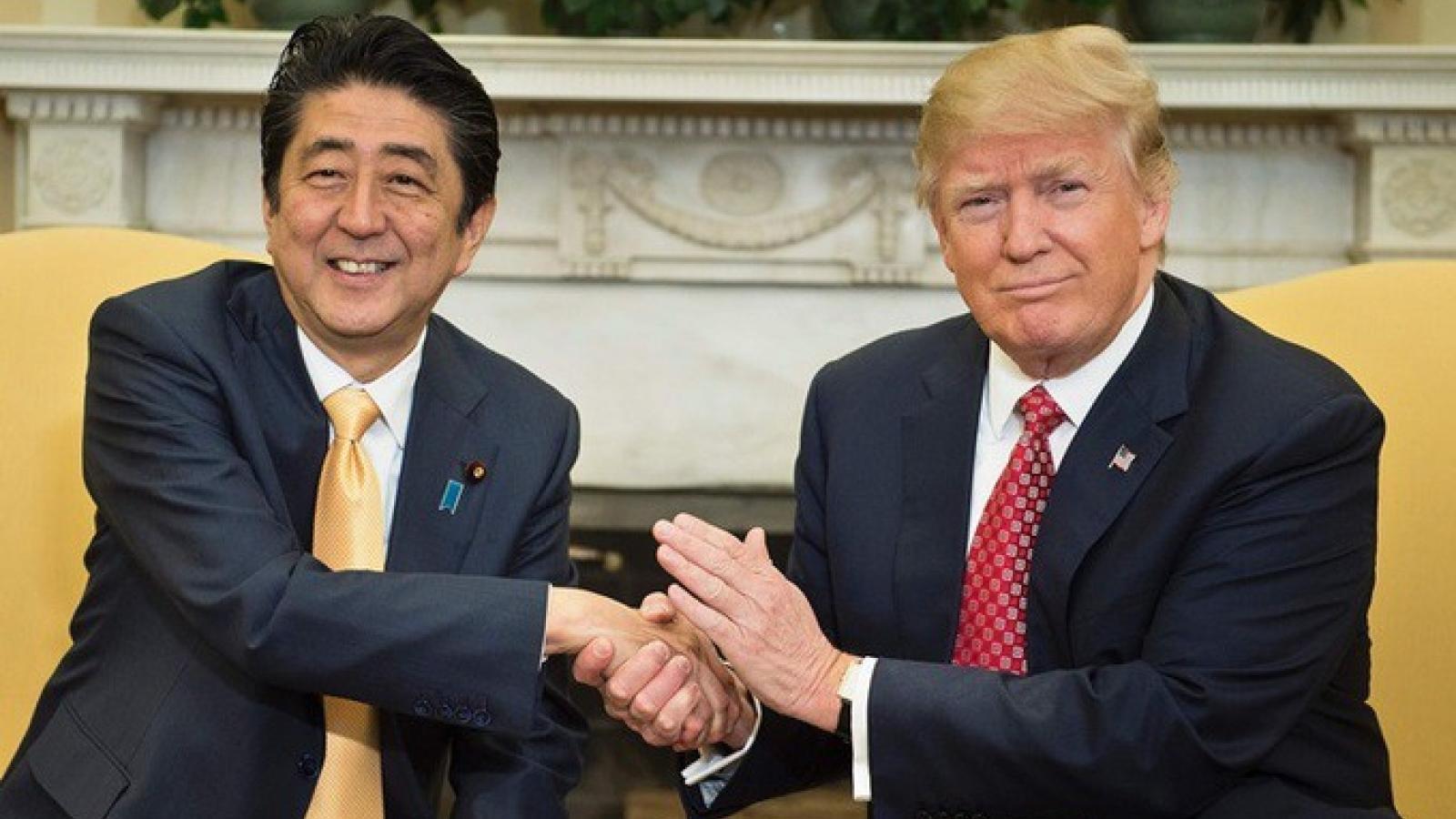 Tổng thống Mỹ Trump: Ông Abe là một người bạn tuyệt vời
