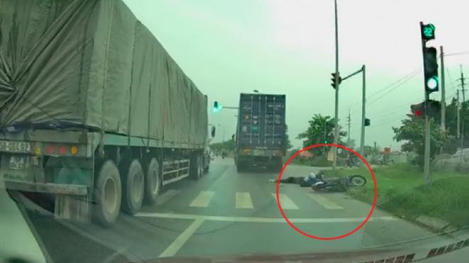 Tìm ra tài xế container vượt ẩu tông chết nữ sinh rồi bỏ chạy