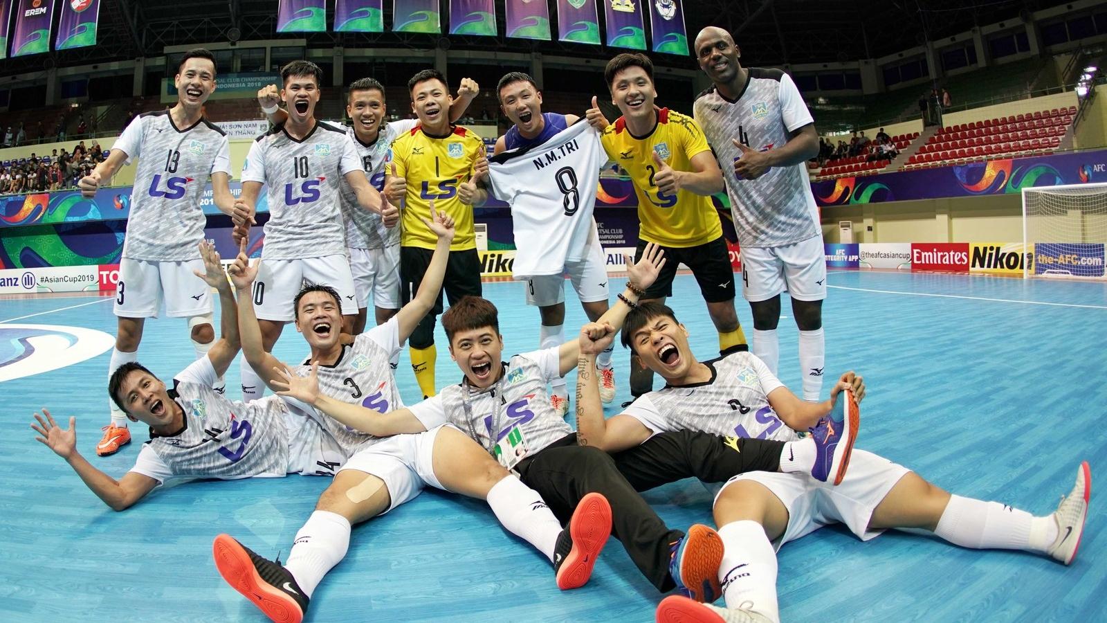 Ngày này năm xưa: Thái Sơn Nam làm nên lịch sử cho Futsal Việt Nam