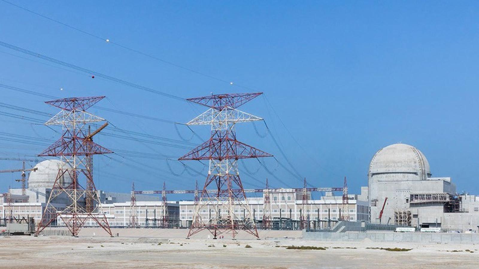 UAE là nước Arab đầu tiên vận hành nhà máy điện hạt nhân