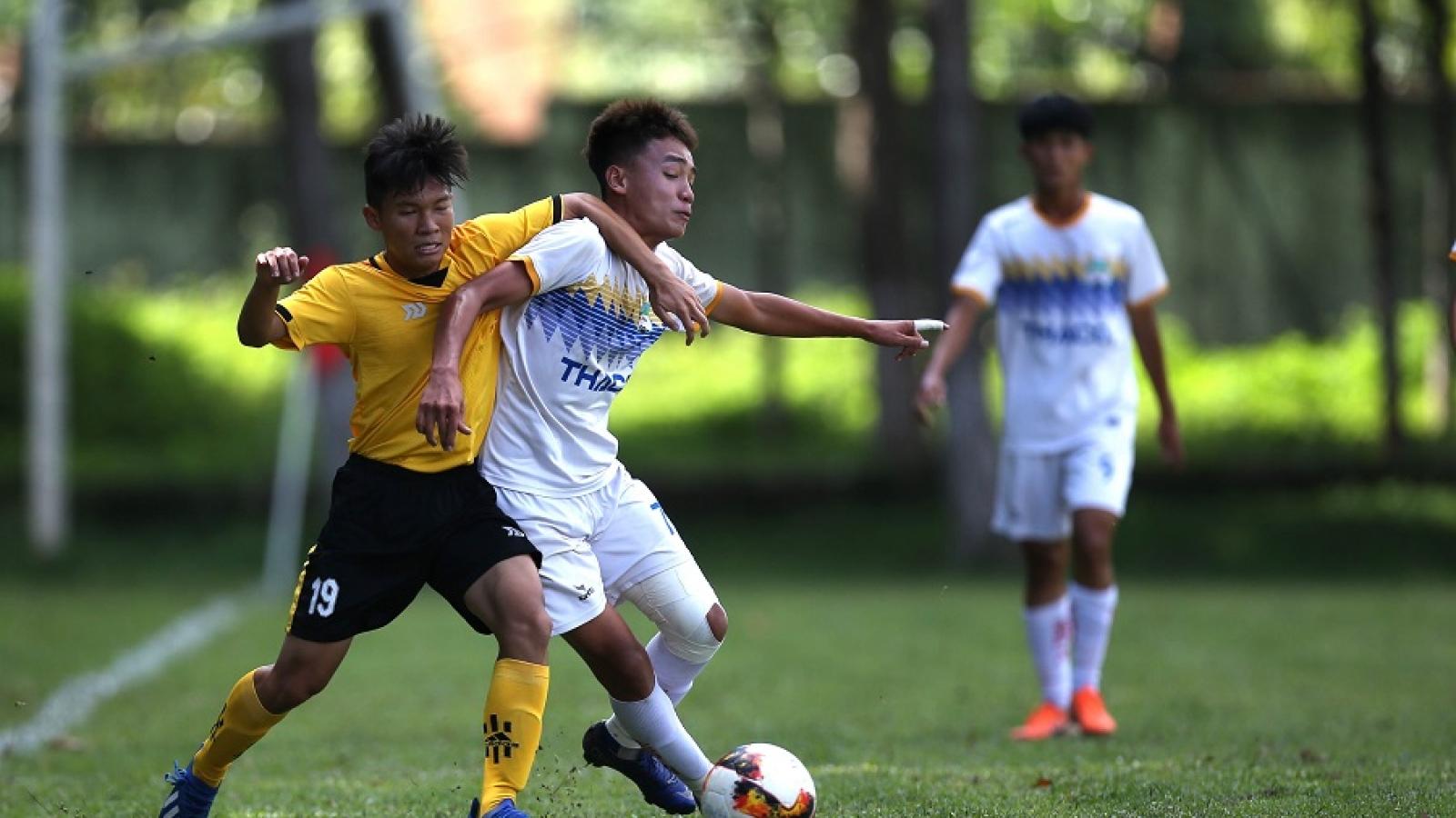 U17 HAGL vượt trội ở vòng loại U17 Quốc gia