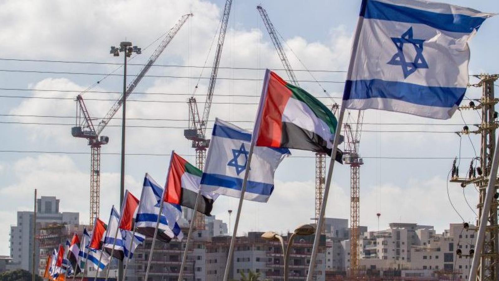 Một loạt thỏa thuận hợp tác khuấy động mối quan hệ Israel – UAE