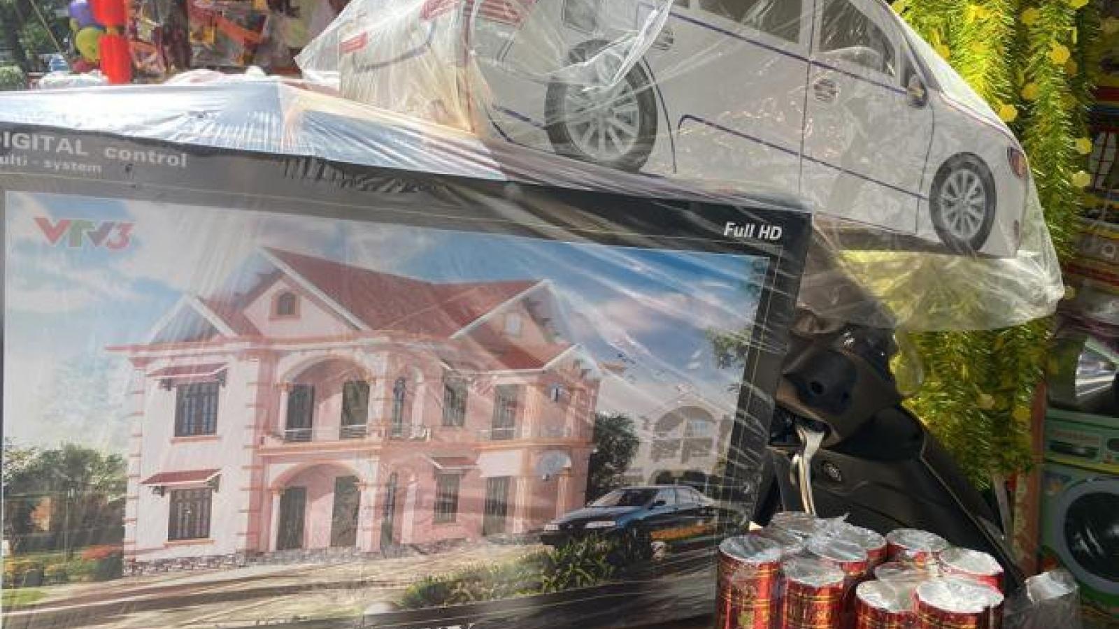 Thị trường vàng mã rằm tháng 7: Nhà lầu, xe hơi, máy giặt ế chỏng chơ