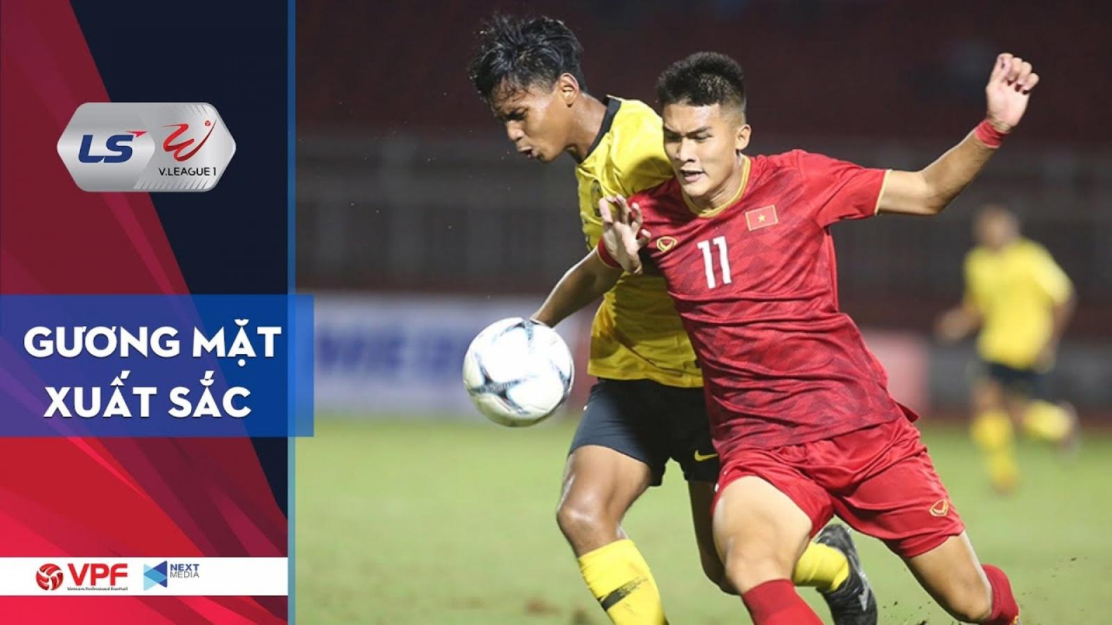 Tiền đạo Võ Nguyên Hoàng - Cầu thủ nổi bật của U19 Việt Nam