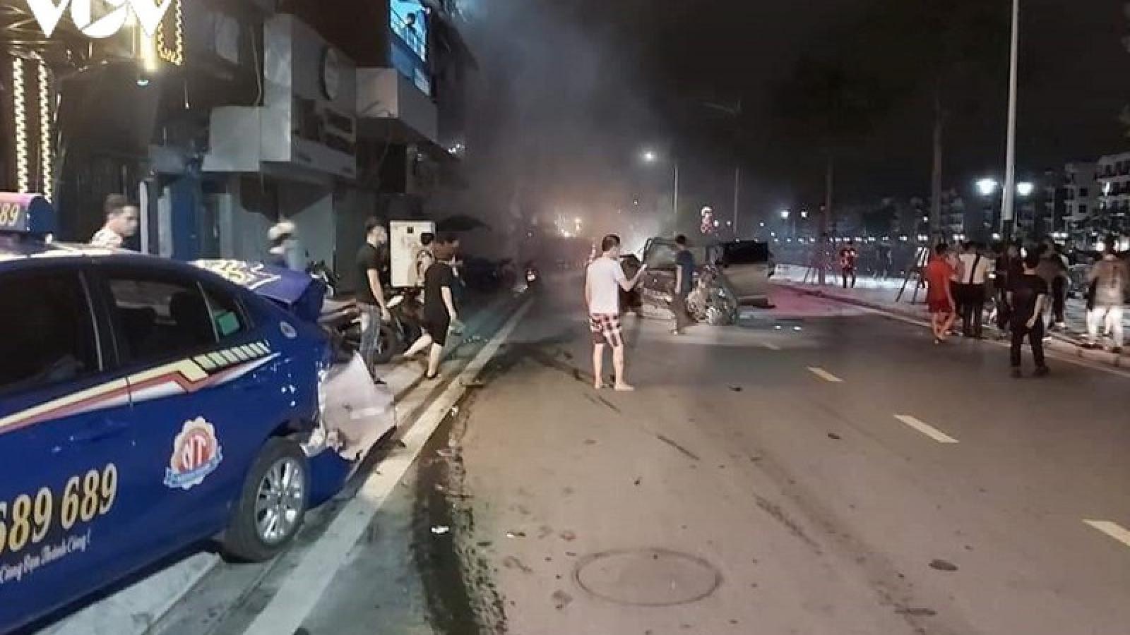 Xe Lexus gây tai nạn liên hoàn tại Hải Phòng: Lái xe có nồng độ cồn 0,593mg/l khí thở