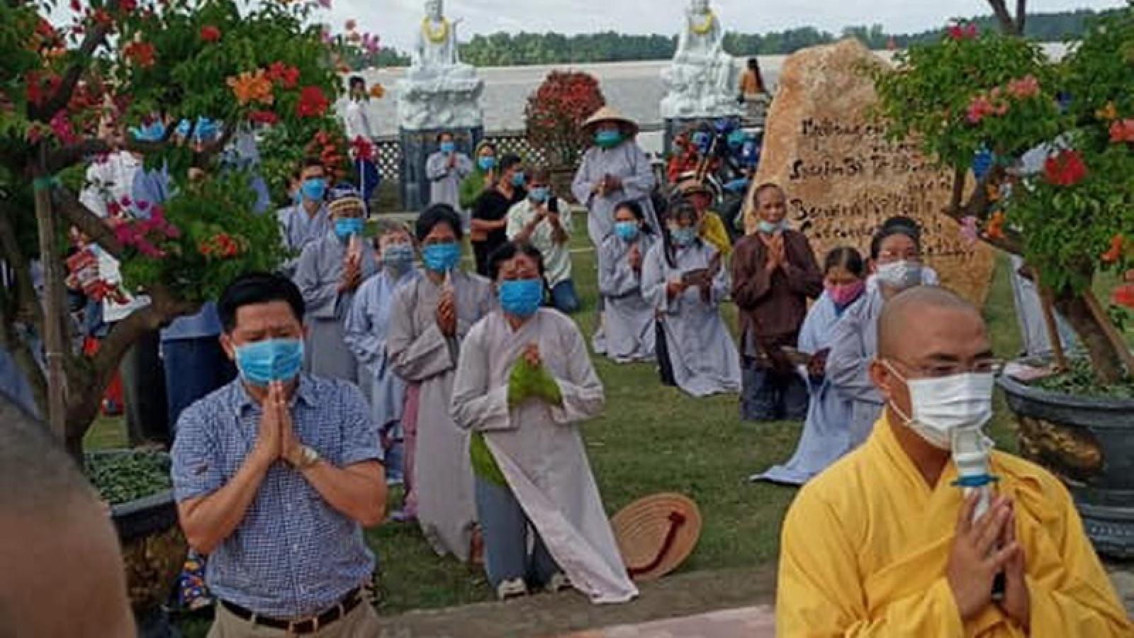 Lễ Vu lan hạn chế tập trung đông người để phòng ngừa dịch Covid-19