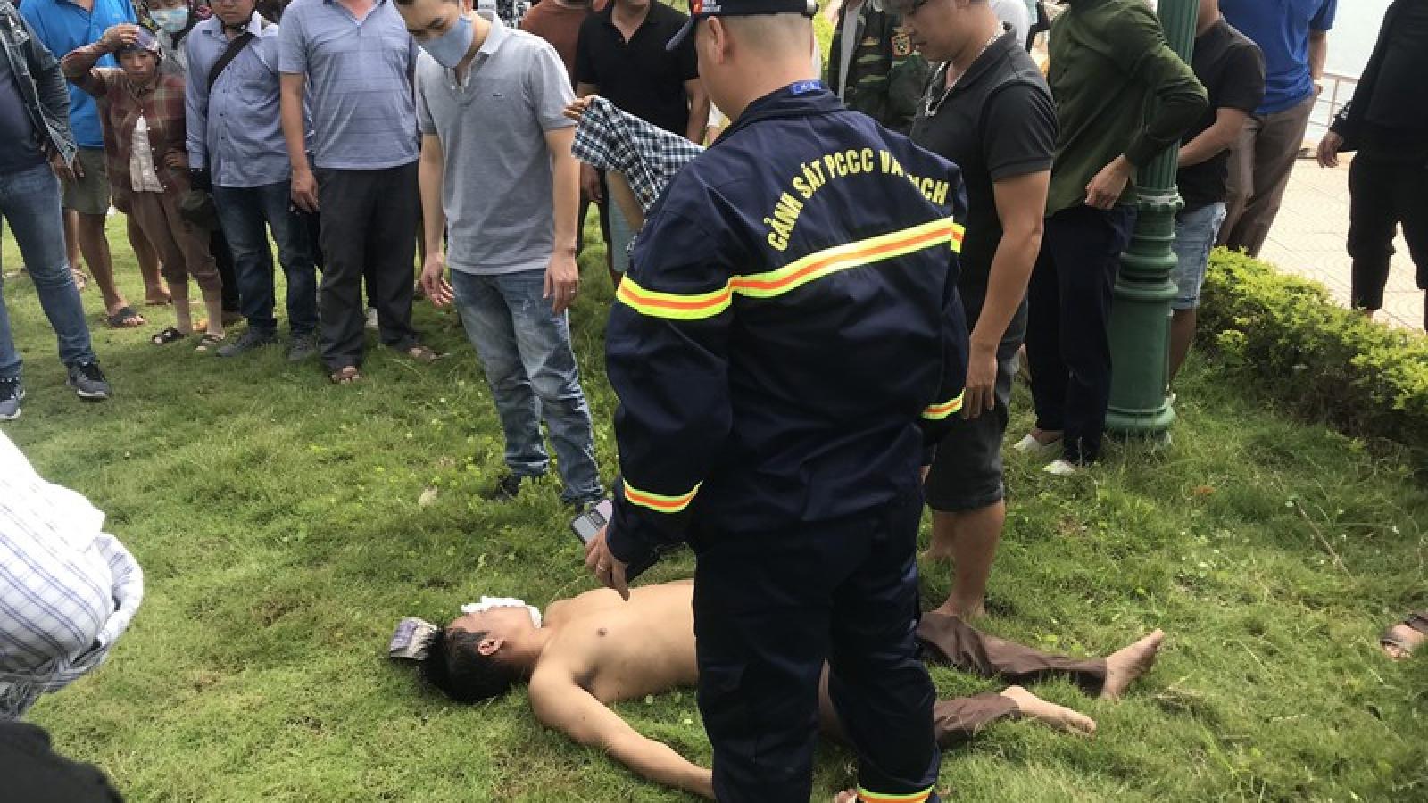 Kịp thời cứu sống người đàn ông bị đuối nước ở Sơn La