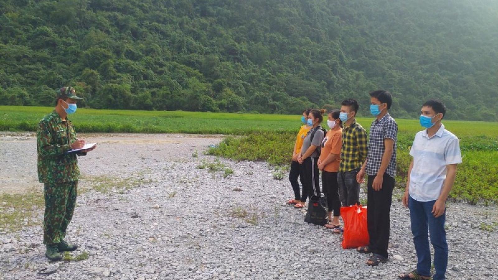 Cao Bằng phát hiện 12 công dân nhập cảnh trái phép