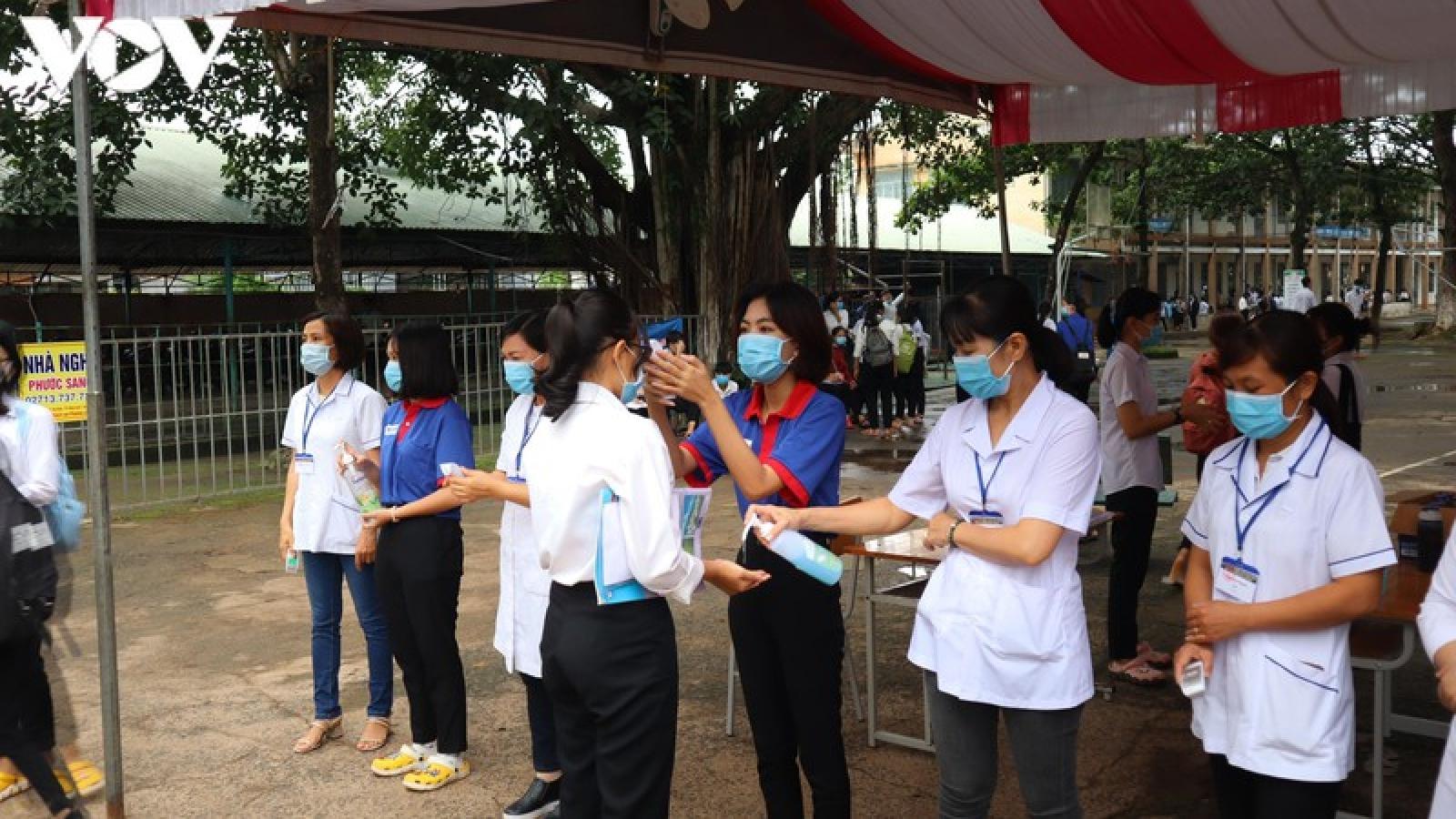 Thi tốt nghiệp THPT 2020: Nhiều thí sinh Đông Nam bộ bỏ thi môn Toán