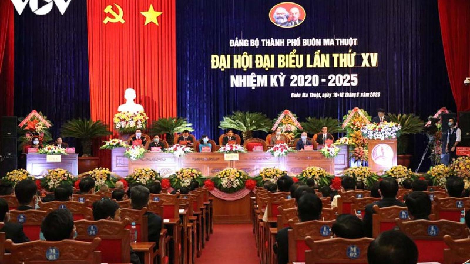 Ông Từ Thái Giang tái cử chức Bí thư Thành uỷ TP Buôn Ma Thuột