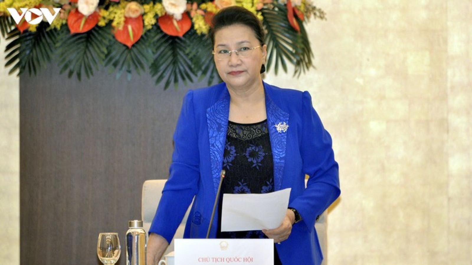 Chủ tịch Quốc hội chủ trì phiên họp Ban chỉ đạo Quốc gia, Ban tổ chức AIPA 41