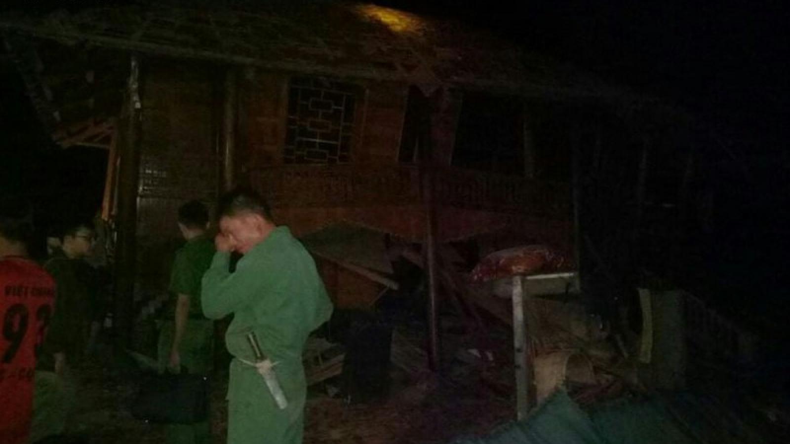 Lở đá ở thành phố Sơn La làm 1 người chết, 1 người bị thương