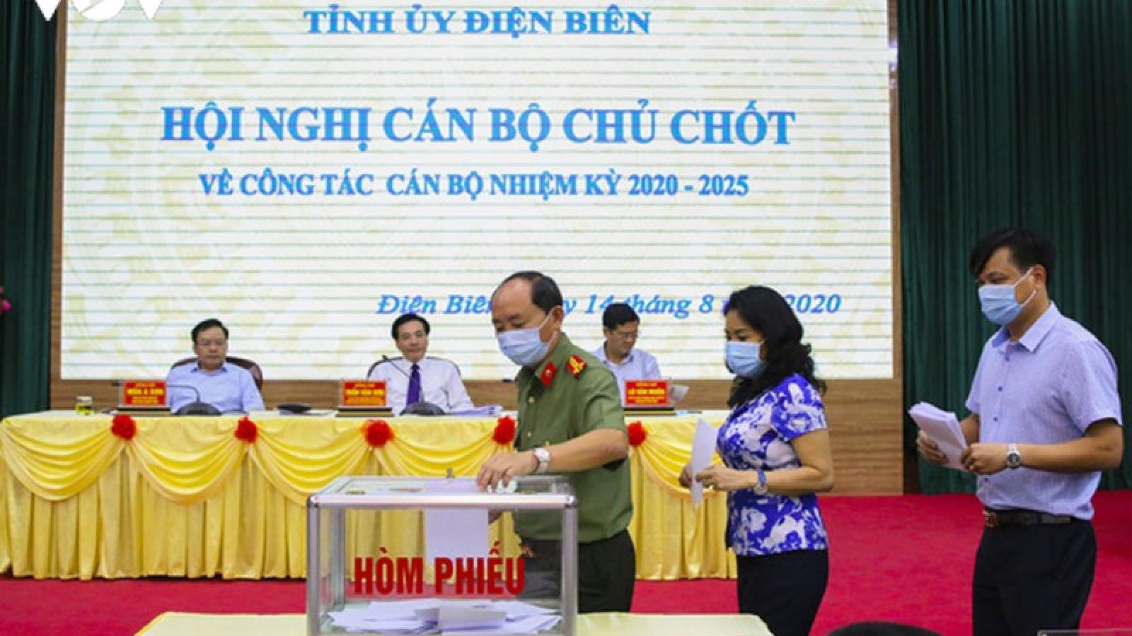 Điện Biên tổ chức hội nghị về công tác cán bộ nhiệm kỳ 2020-2025