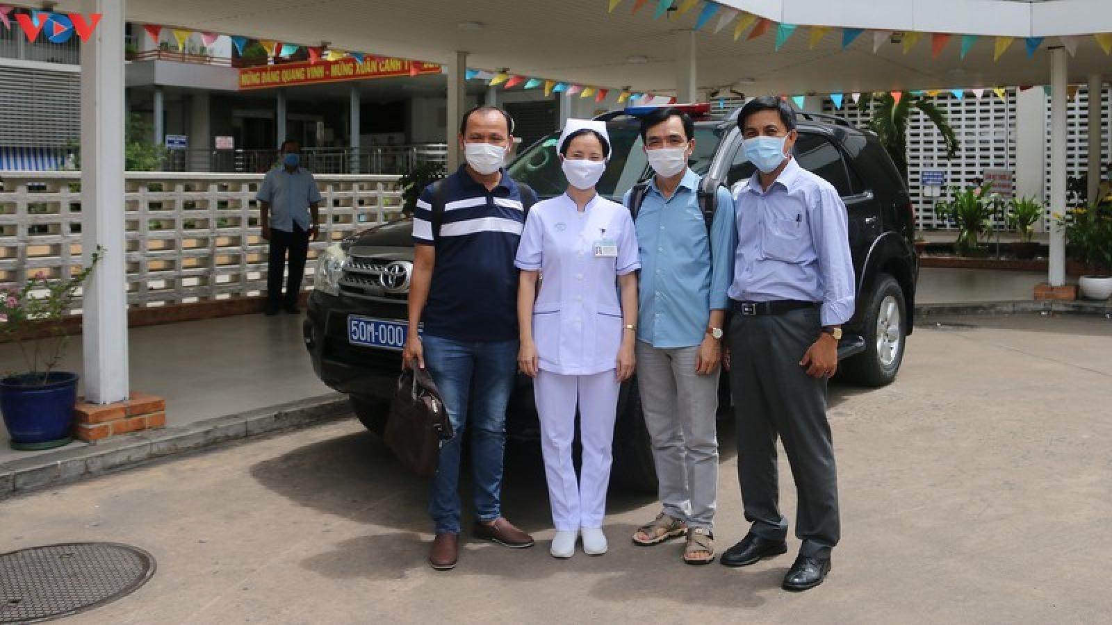 Bệnh viện Chợ Rẫy tiếp tục chi viện đội phản ứng nhanh ra Đà Nẵng