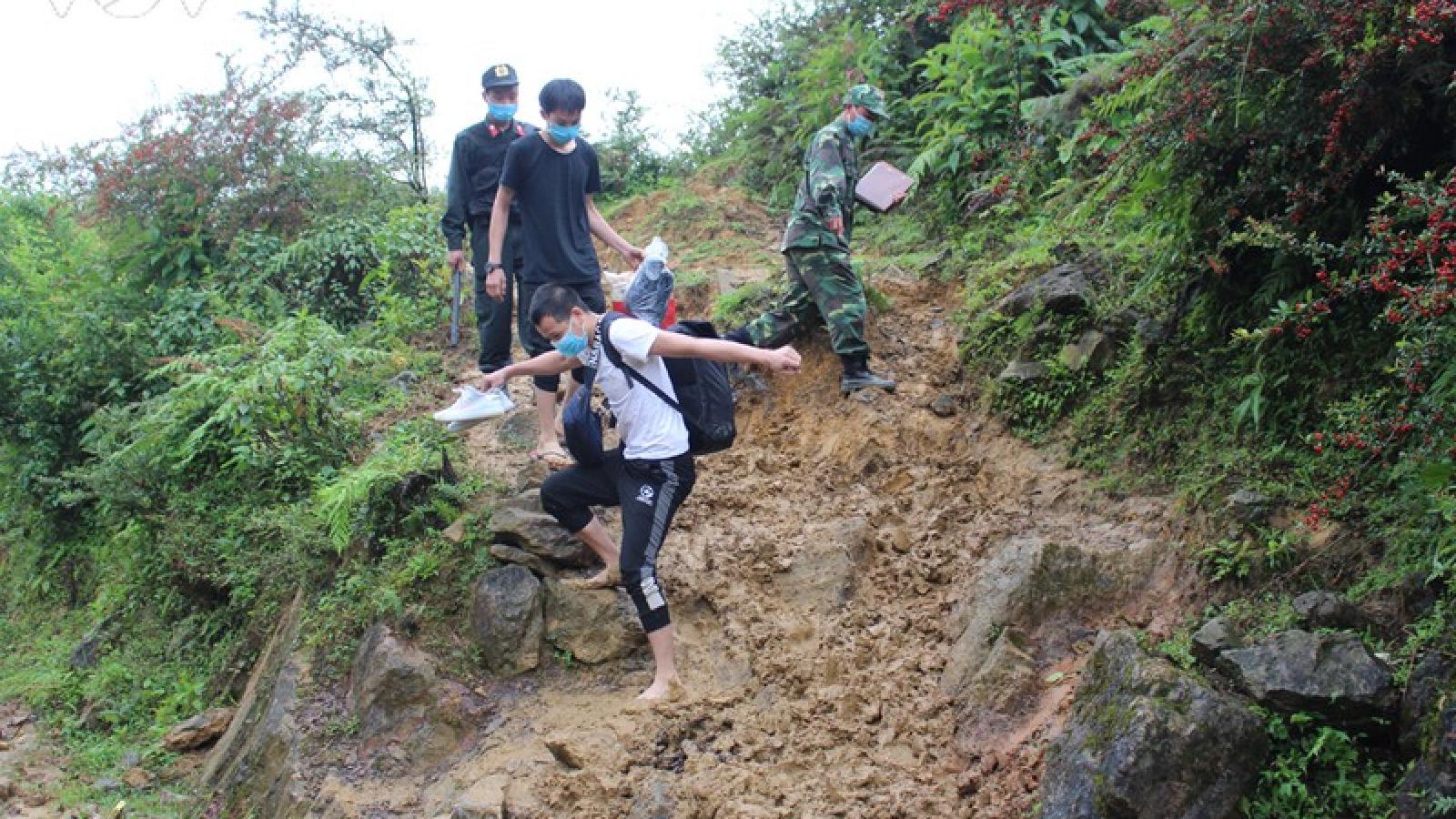 Hà Giang tiếp nhận, thu dung 220 công dân đưa vào cách ly