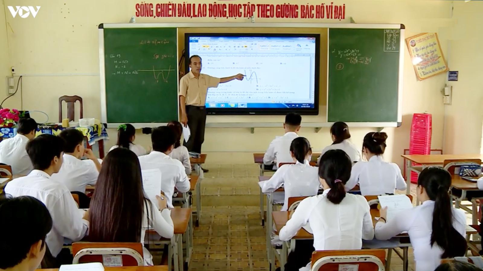 Hơn 10.000 thí sinh Vĩnh Long sẵn sàng cho kỳ thi tốt nghiệp THPT