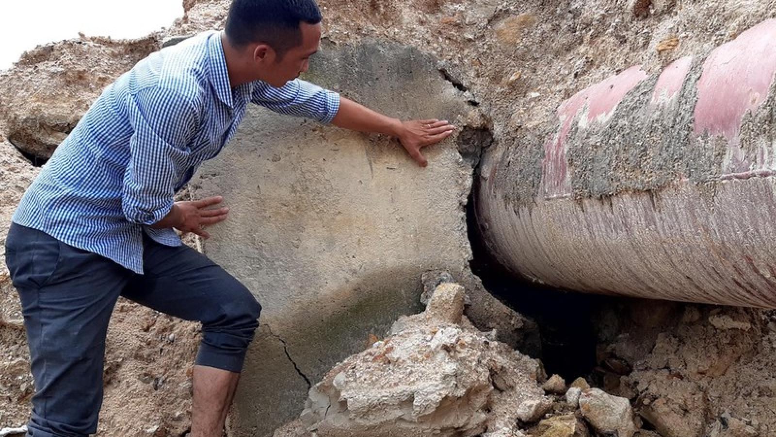 Công trình thuỷ lợi 119 tỷ đồng ở Gia Lai chưa nghiệm thu đã tan nát