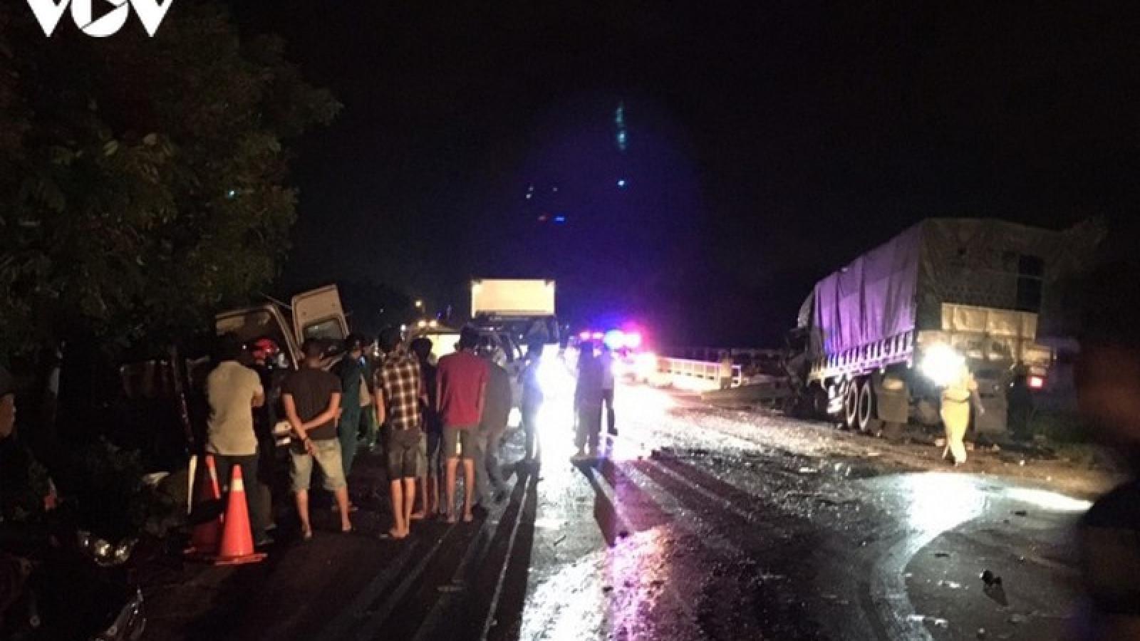 Khởi tố vụ tai nạn giao thông làm 8 người chết ở Bình Thuận