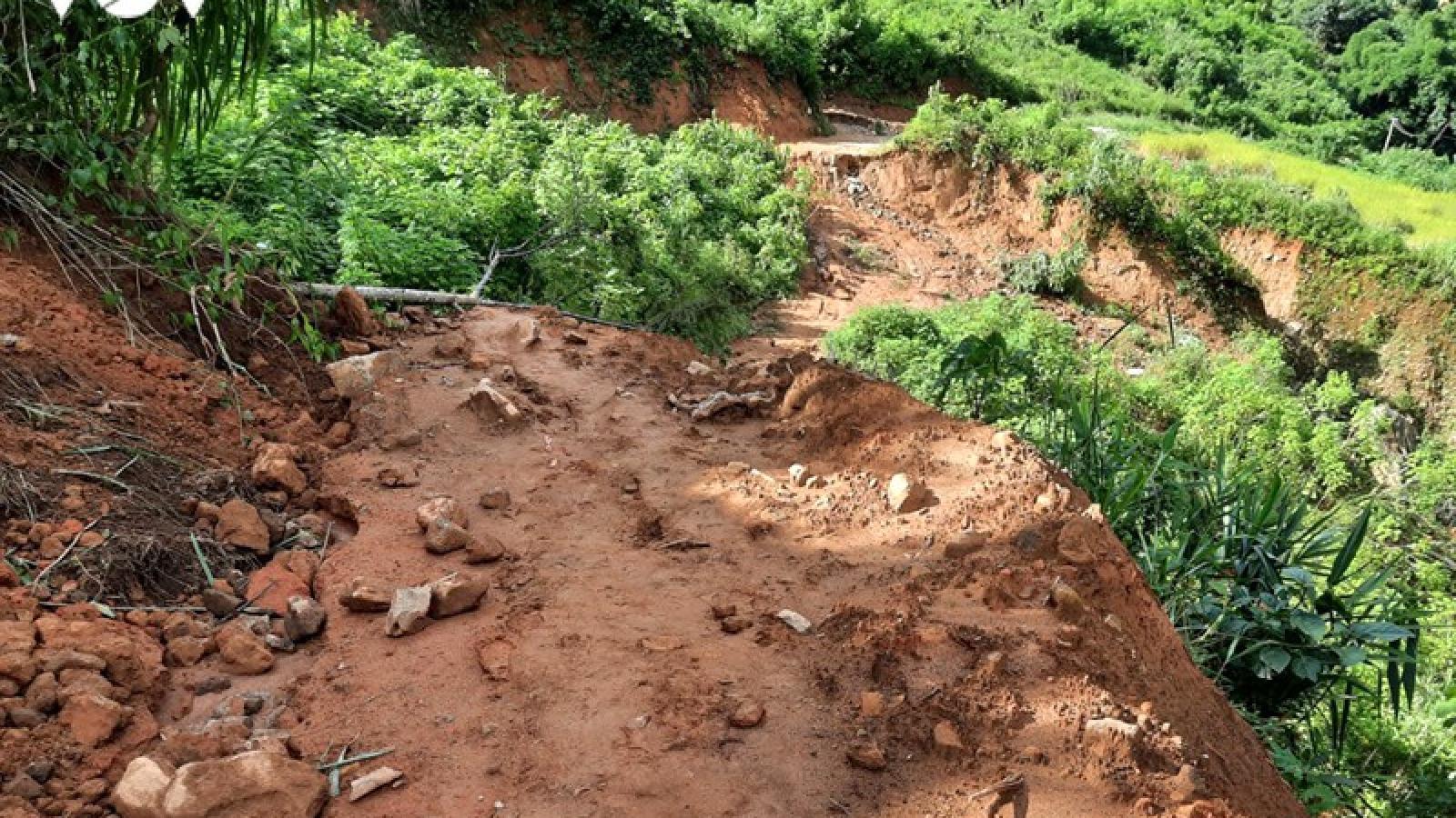 Mường Tè (Lai Châu) tiếp tục thiệt hại nặng do mưa lũ
