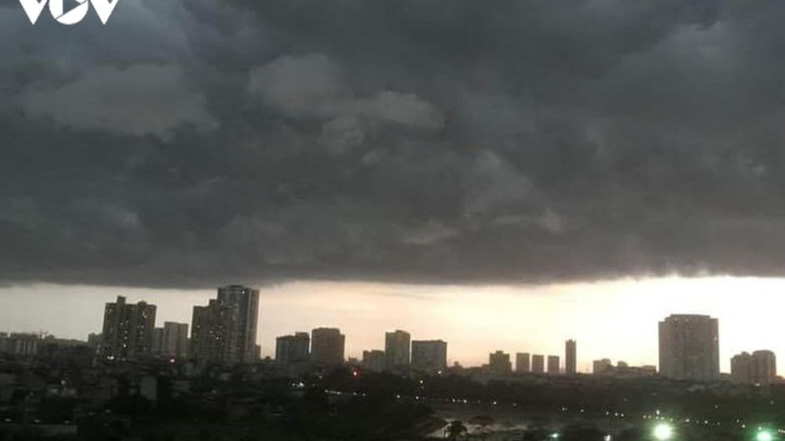 Dự báo thời tiết hôm nay: Bắc Bộ có mưa to vào chiều tối và đêm