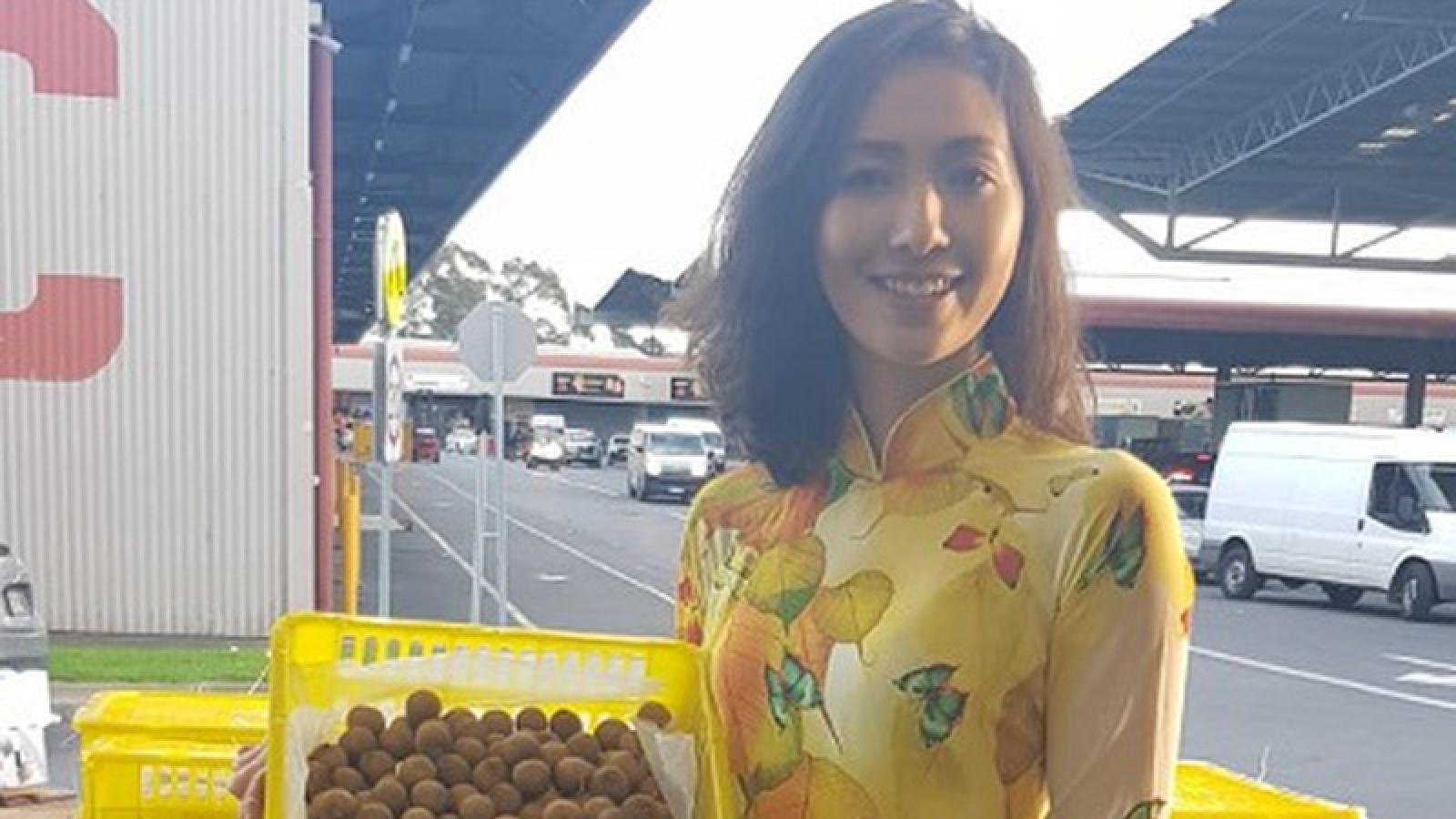 Nhãn tươi Việt Nam đổ bộ thị trường Australia
