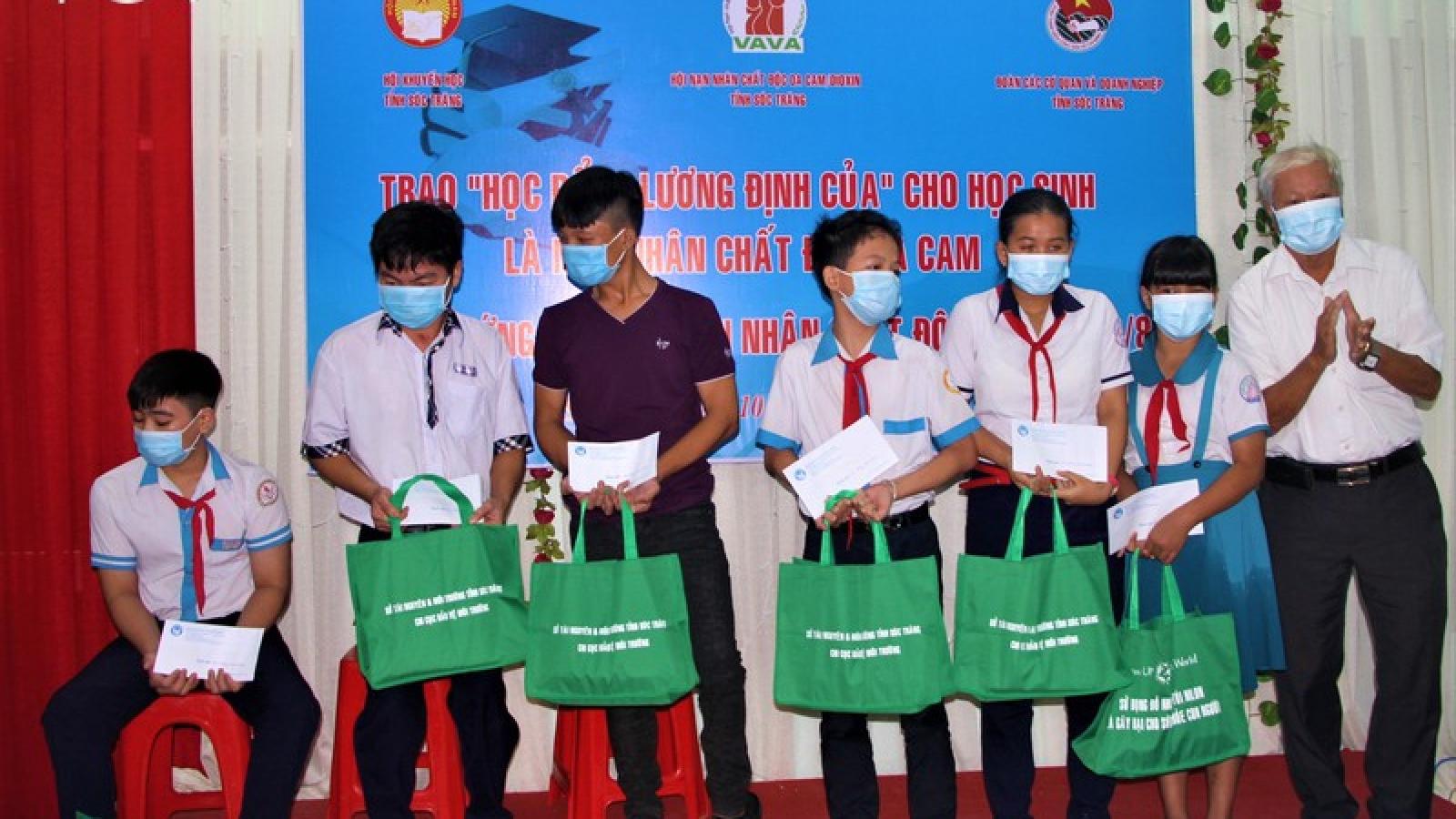 Sóc Trăng hỗ trợ, giúp đỡ nạn nhân chất độc da cam/dioxin