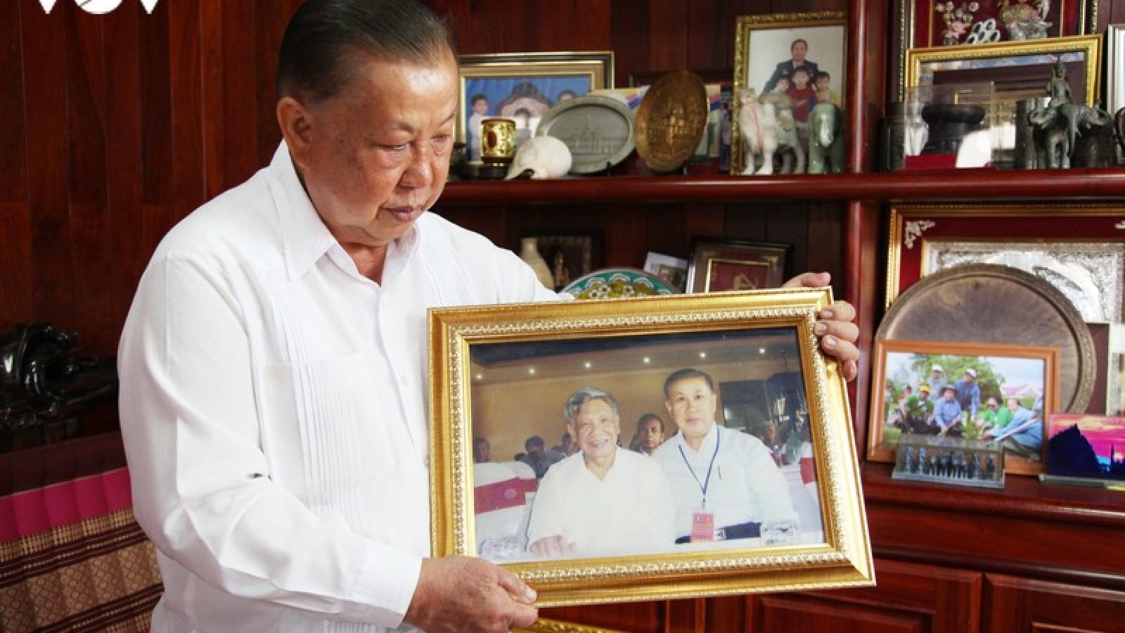 Tổng Bí thư Lê Khả Phiêu qua lời kể của cựu Đại sứ Lào tại Việt Nam