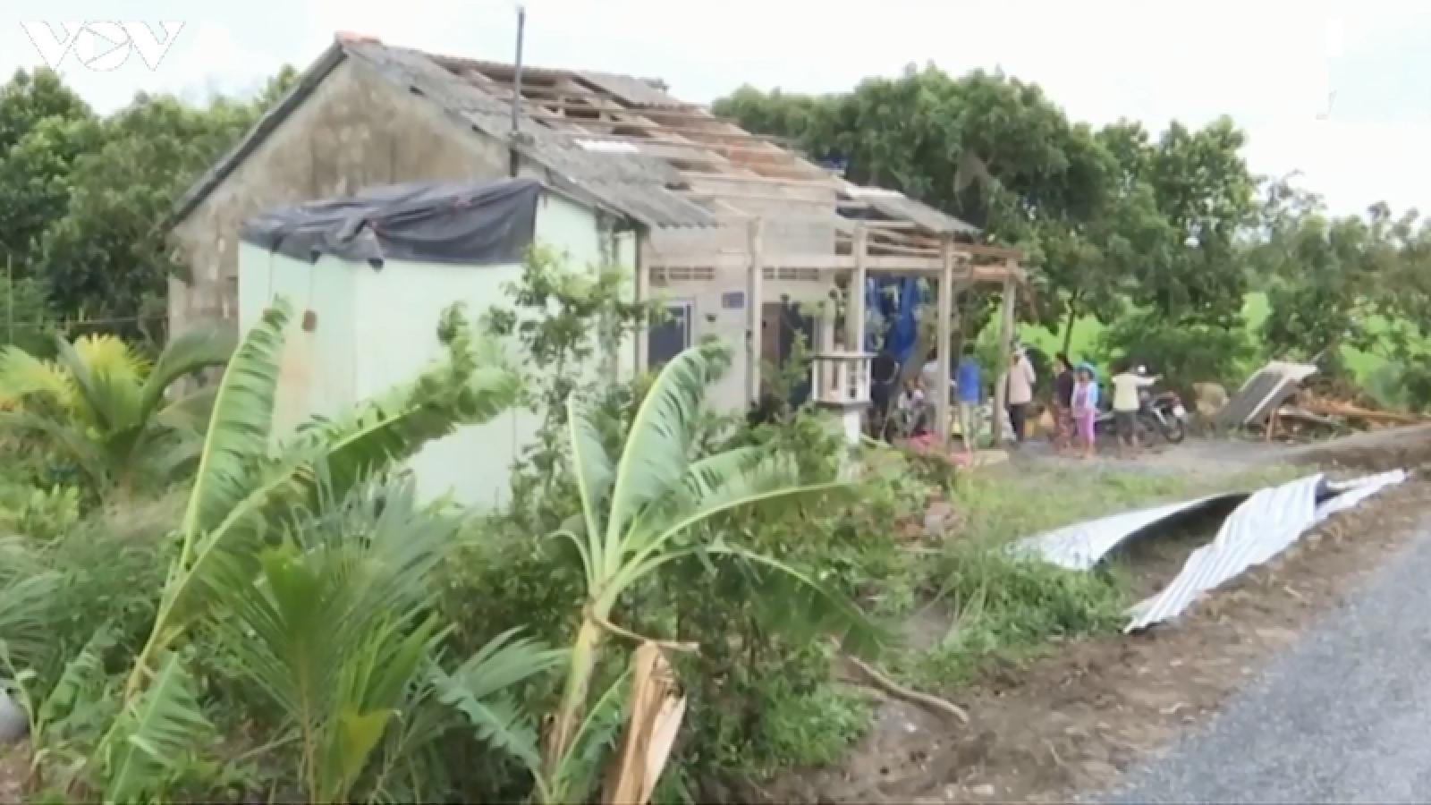 Vĩnh Long thiệt hại ban đầu do ảnh hưởng cơn bão số 2