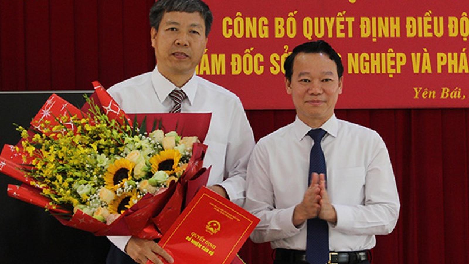 Yên Bái: Phó trưởng Đoàn đại biểu Quốc hội làm Giám đốc Sở NN&PTNT