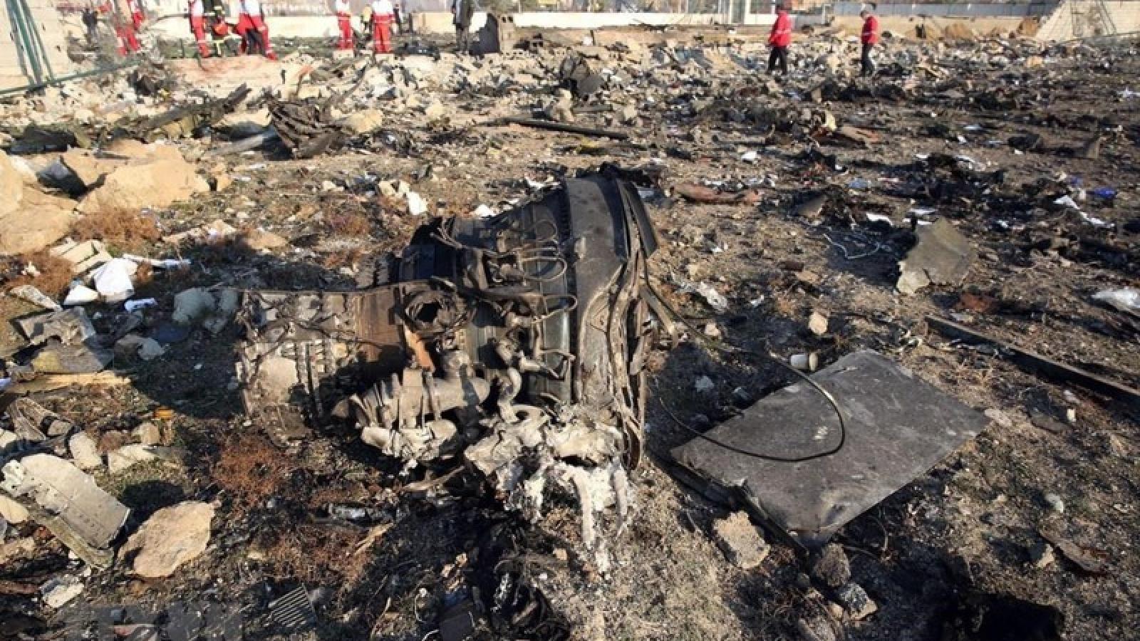 Iran sẵn sàng bồi thường vụ bắn nhầm máy bay Ukraine