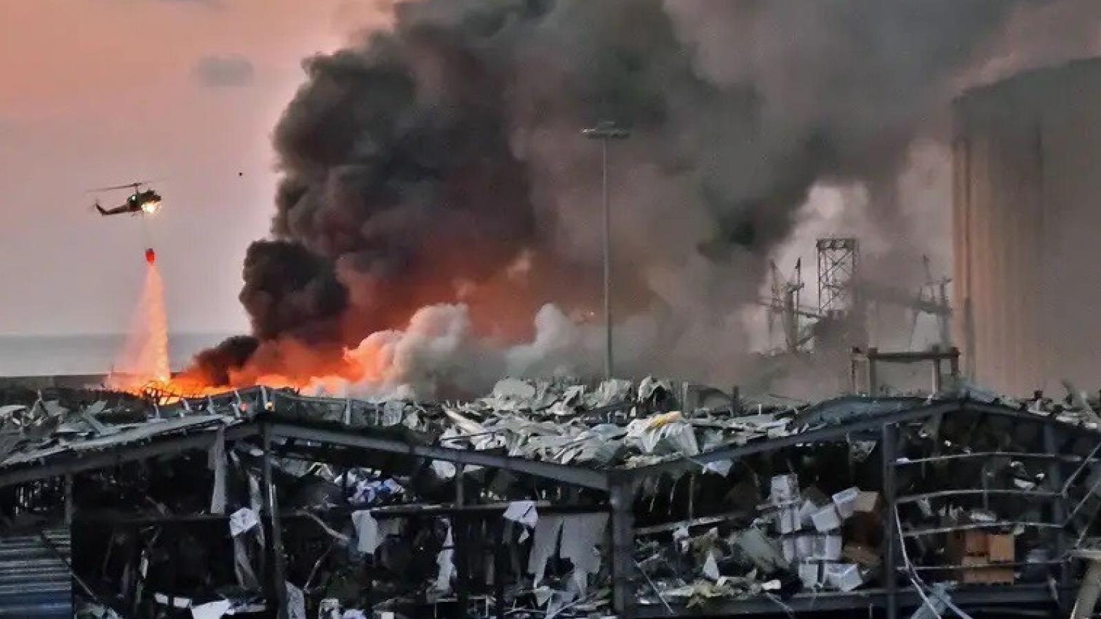 Lebanon phát hiện thêm gần 80 thùng chất nổ, tiềm ẩn nguy cơ thảm họa