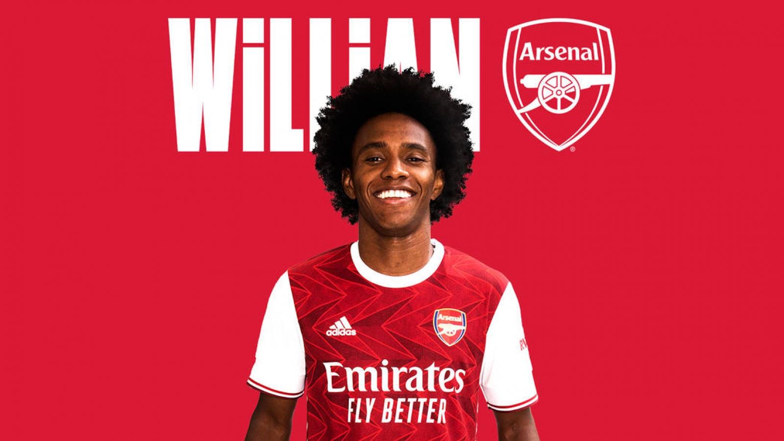 Willian tiết lộ lý do chia tay Chelsea để đến với Arsenal