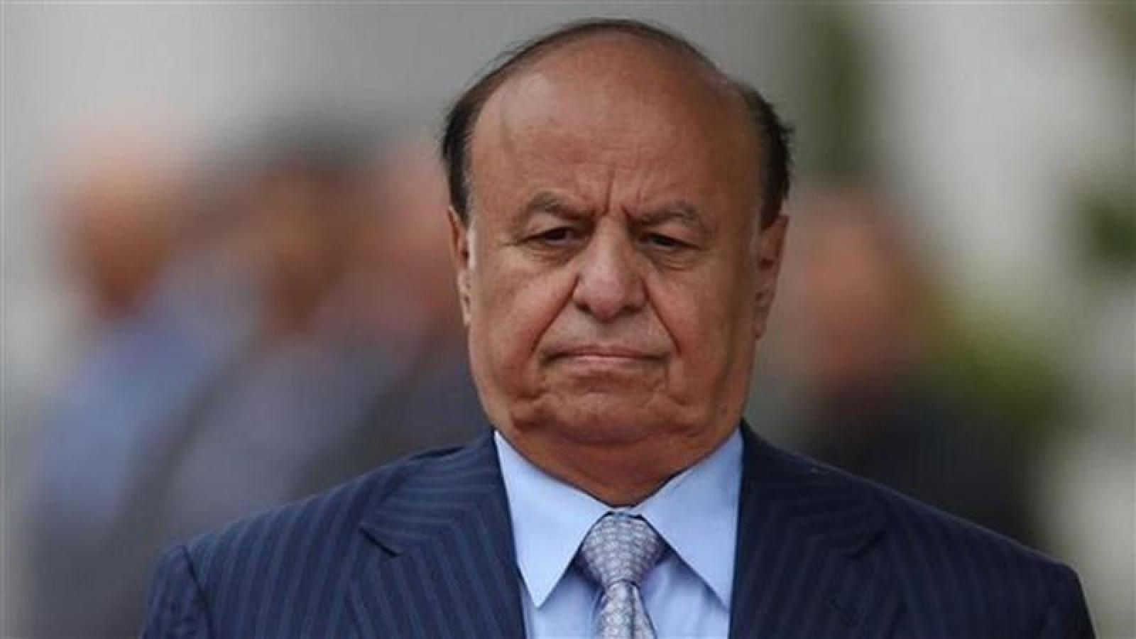 Tổng thống Yemen đến Mỹ để kiểm tra sức khỏe