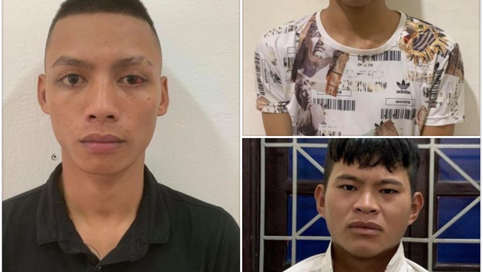 Tóm gọn hai tên cướp điện thoại trên đường ở Nghệ An