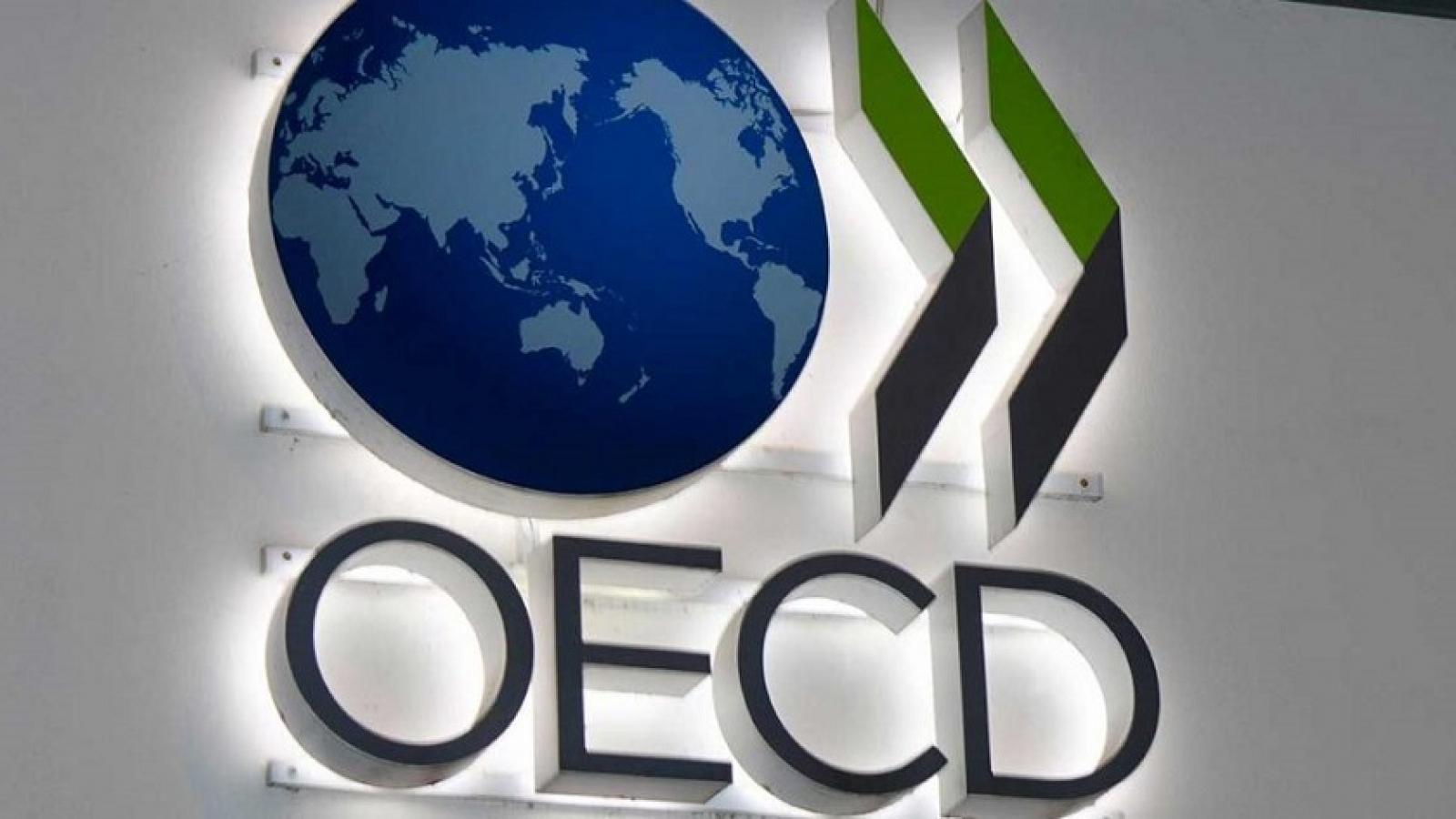 OECD điều chỉnh triển vọng tăng trưởng kinh tế toàn cầu