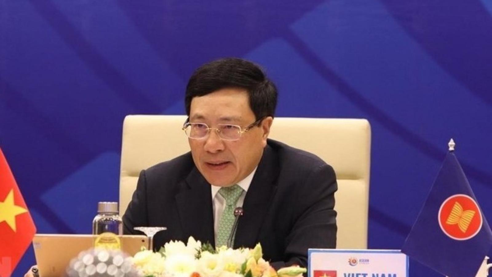 Hội nghị Bộ trưởng Ngoại giao Asean và Trung Quốc, Nhật Bản, Hàn Quốc thành công tốt đẹp